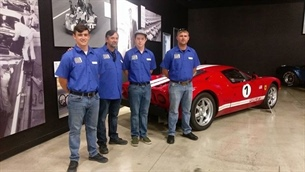 CARROLL SHELBY FOUNDATION KEEPS FOOT ON THE GAS