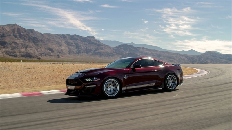 SHELBY AMERICAN TO ROLL OUT AT TULSA MID-AMERICA FORD AND SHELBY NATIONALS