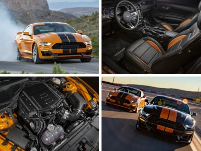 SHELBY GT-S SIXT RENTAL CAR