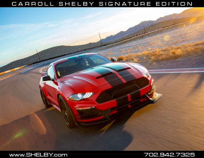 Carroll Shelby Signature Series Mustang