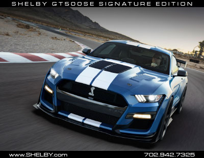 Shelby GT500 Signature Edition