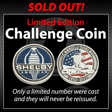 Shelby Challenge Coin