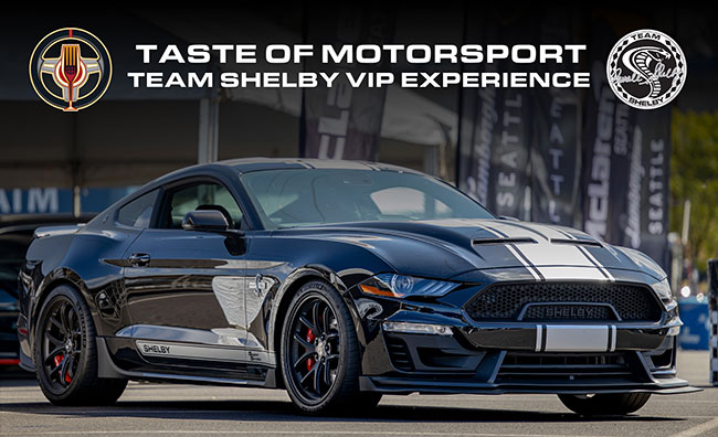 Team Shelby Taste of Motorsports VIP Experience