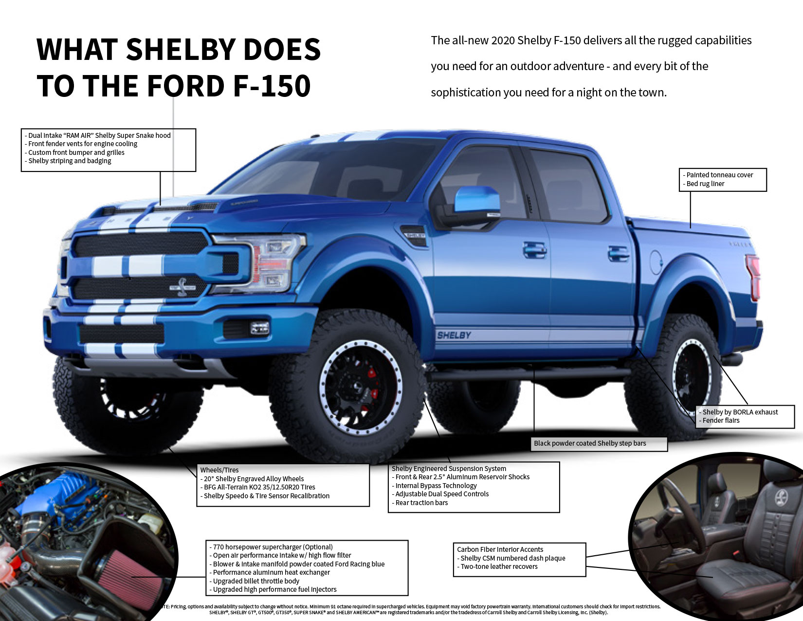 Shelby F-150 Data Sheet