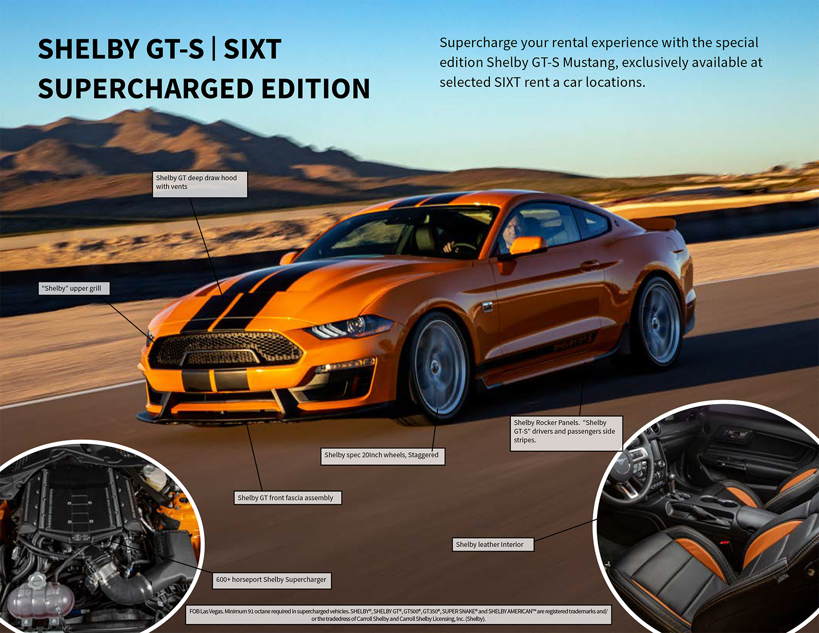 Shelby GT-S | SIXT Supercharged Edition